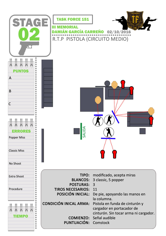 Stage2- Pistola medio