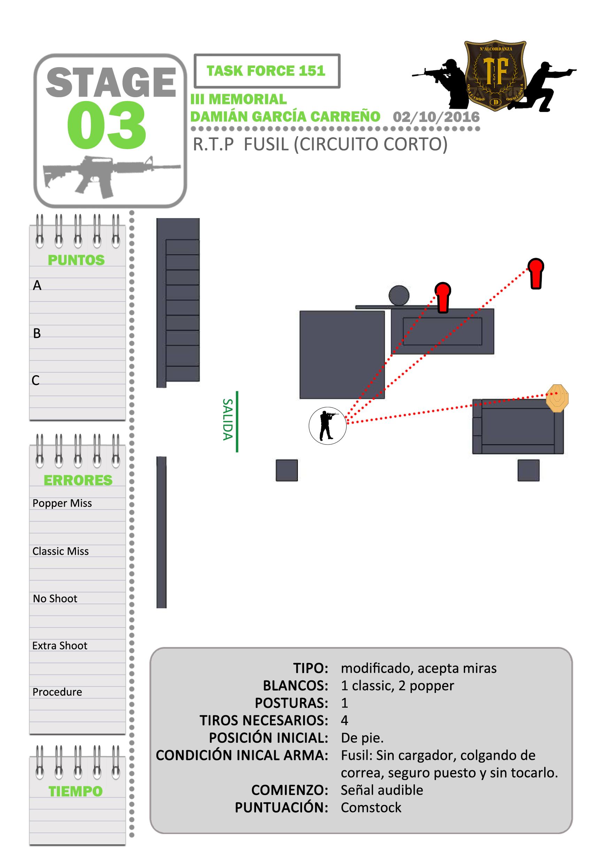 Stage3- Fusil corto