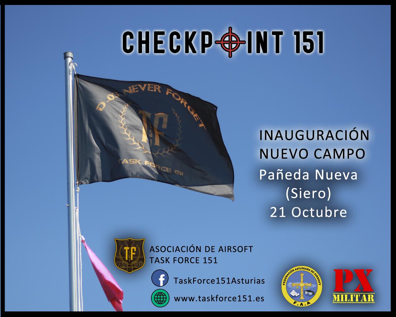 Inauguración Campo Checkpoint 151 Inauguracion-campo
